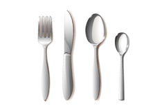 Spoons and others Royalty Free Stock Photos