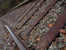 Spoor 2 van het karretje Stock Foto's