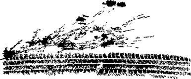 Spoor Royalty-vrije Stock Afbeelding