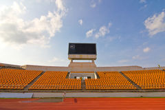 Spoor & stadion royalty-vrije stock fotografie