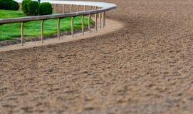 Spoor bij de Kromme van Paardspoor stock afbeeldingen