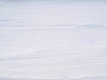 Spoor in sneeuw Stock Foto's