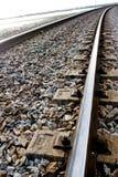 Spoor-trein stock foto