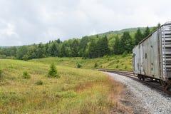 Spoorauto Stock Foto