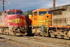 Spoormotor Royalty-vrije Stock Afbeeldingen