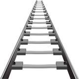 Spoorweg royalty-vrije illustratie