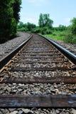 Spoorweg Royalty-vrije Stock Foto's