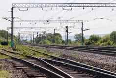 Spoorweg. Royalty-vrije Stock Foto