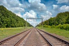 Spoorweg royalty-vrije stock afbeeldingen