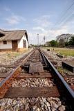 Spoorweg. Royalty-vrije Stock Afbeeldingen