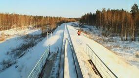 Spoorweg stock video