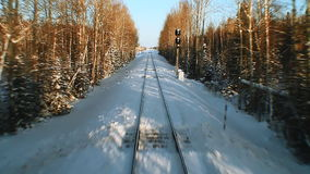 Spoorweg stock videobeelden