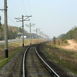 Spoorweg Royalty-vrije Stock Afbeelding