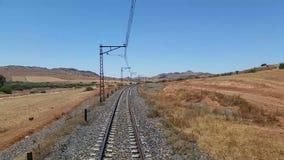 Spoorweg stock footage