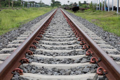 Spoorweg Stock Fotografie
