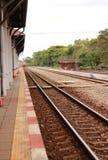 Spoorweg Royalty-vrije Stock Foto