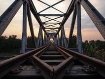 Spoorweg aan Huis royalty-vrije stock afbeelding