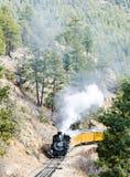 Spoorweg in Colorado Royalty-vrije Stock Afbeelding