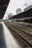 Spoorweg het voortbewegings reizen Royalty-vrije Stock Fotografie