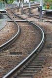 Spoorweg in Hongkong royalty-vrije stock fotografie