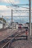 Spoorweg in Japan Stock Afbeeldingen