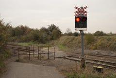 Spoorweg kruising Royalty-vrije Stock Afbeelding