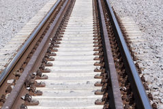 Spoorweg - RUW formaat   stock afbeeldingen