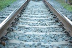 Spoorweg in Thailand Royalty-vrije Stock Afbeelding