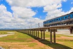 Spoorweg voor vervoer, vervoerspoorweg, Stock Foto's