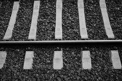 Spoorweg zonder eind royalty-vrije stock afbeelding
