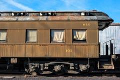 Spoorwegauto Royalty-vrije Stock Fotografie