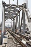 Spoorwegbrug Stock Afbeeldingen