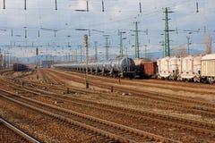 Spoorwegen Stock Foto's