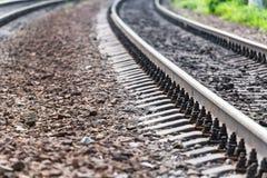 Spoorwegen Royalty-vrije Stock Afbeelding