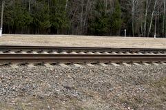 spoorwegen Royalty-vrije Stock Fotografie