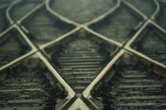 Spoorwegnetwerk Royalty-vrije Stock Foto's