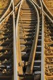 Spoorwegschakelaar royalty-vrije stock foto