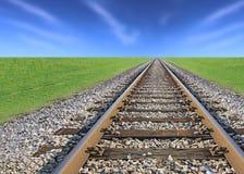 Spoorwegspoor Royalty-vrije Stock Foto