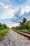 Spoorwegspoor Stock Afbeeldingen