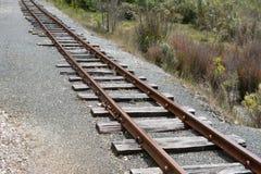 Spoorwegspoor Royalty-vrije Stock Afbeeldingen