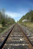 Spoorwegsporen Royalty-vrije Stock Afbeelding