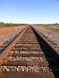 Spoorwegsporen Royalty-vrije Stock Afbeeldingen