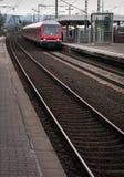 Spoorwegstation stock afbeeldingen