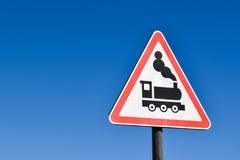 Spoorwegteken Stock Afbeeldingen