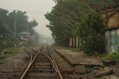 Spoorwegvervoer Royalty-vrije Stock Afbeeldingen
