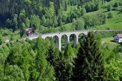Spoorwegviaduct Stock Fotografie