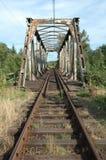 Spoorwegviaduct Royalty-vrije Stock Fotografie