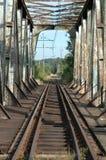 Spoorwegviaduct Royalty-vrije Stock Afbeelding