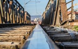 Spoorwegweg Royalty-vrije Stock Foto