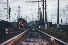 Spoorwegweg Stock Afbeeldingen